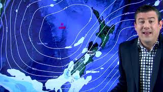 NZ's weather forecast right through until Labour Day Monday (16/10/18)