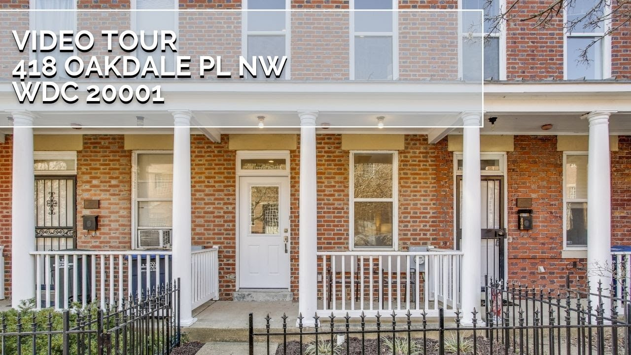 Video Tour: 418 Oakdale Pl NW, Washington, DC 20001