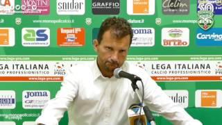 Zanin in conferenza stampa
