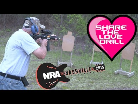 "Speed Shooting the AR-15 ""Share the Love"" Drill + Meet Jerry Miculek at the Nashville NRA show! (4K)"