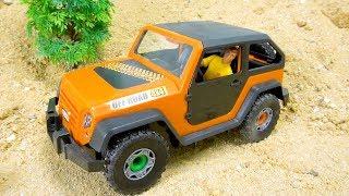 Assembling Cars toys video
