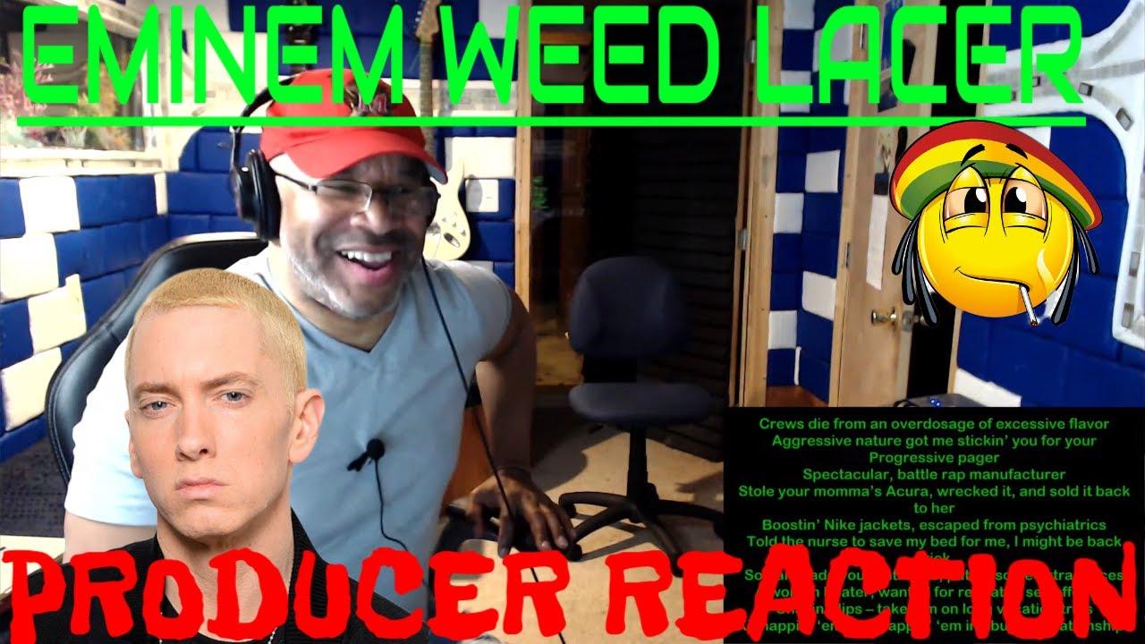 Eminem   Weed Lacer Lyrics - Producer Reaction