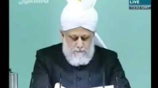 Проповедь Хазрата Мирзы Масрура Ахмада (12-11-10) часть 4