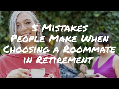 5 Mistakes People Make When Choosing a Roommate in Retirement – Retirement Advice