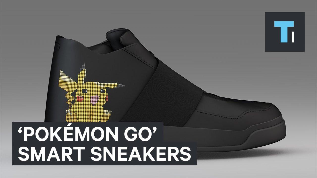 Pokémon GO' smart sneakers - YouTube