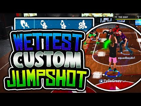 MY WET CUSTOM JUMPSHOT IN NBA 2K18 EXPOSED! BEST JUMPSHOT ANY ARCHETYPE! STAGE AND PLAYGROUND!
