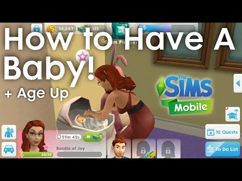 the-sims-mobile-how-to-have-a-baby-👶-(boy-or-girl)-and-grow-up