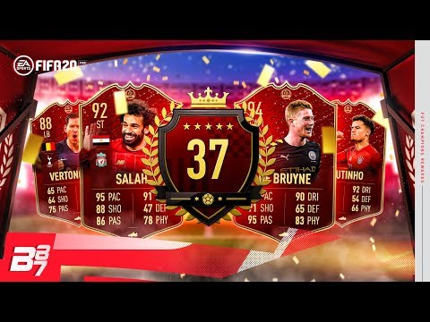 37TH IN THE WORLD! TOP 100 FUT CHAMPIONS REWARDS! | FIFA 20 ULTIMATE TEAM