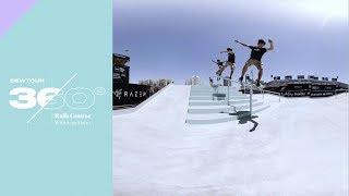Dew Tour 360° Video: Sean Malto Skates the Rail Course at Dew Tour Long Beach 2017 thumbnail