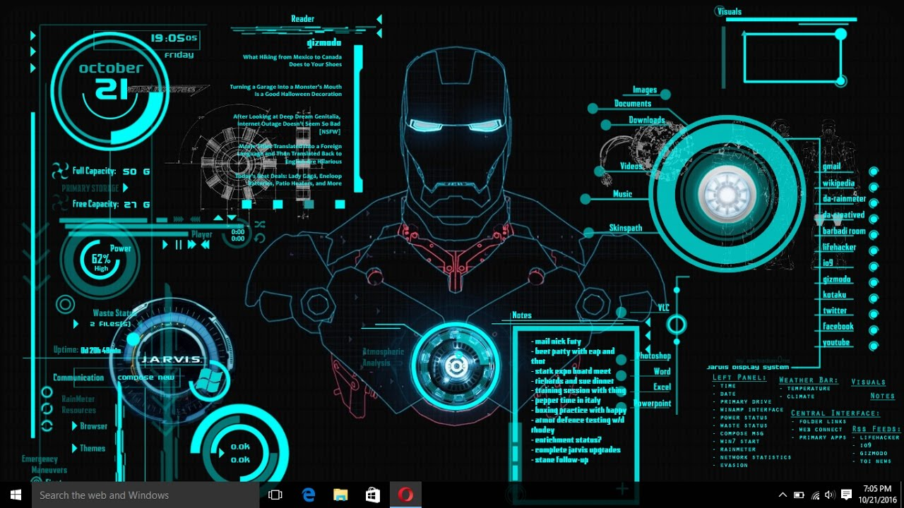How To Convert Pc Or Laptop Into Jarvis System Iron Man