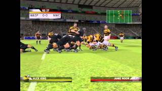 Rugby Challenge 2006 PC 2006 Gameplay