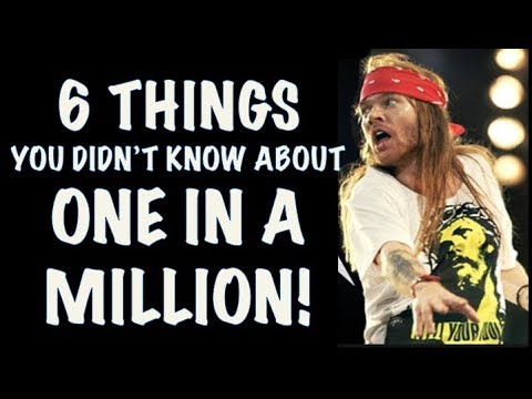 Guns N' Roses: 6 Things You Didn't Know About One in a Million! GNR Lies! Axl Rose is Love!