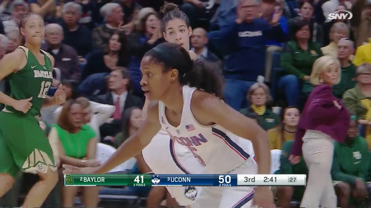 UConn Women's Basketball vs  Baylor Highlights - YouTube