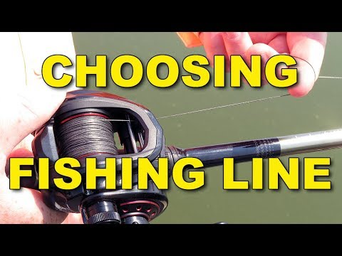 Choosing Fishing Line: Monofilament Vs Braid Vs Fluorocarbon | Bass Fishing