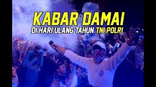 AREMANIA - KABAR DAMAI HUT TNI POLRI