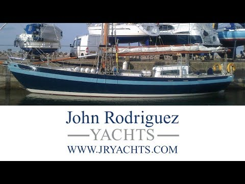 Dyarchy II - 2006 Laurent Giles 54' Steel Gaff Rigged Cutter For Sale