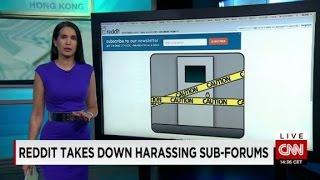 Reddit acts against online harassment