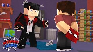 Minecraft: MENINO ARANHA - CONTEI A VERDADE PARA MEU AMIGO!? #14