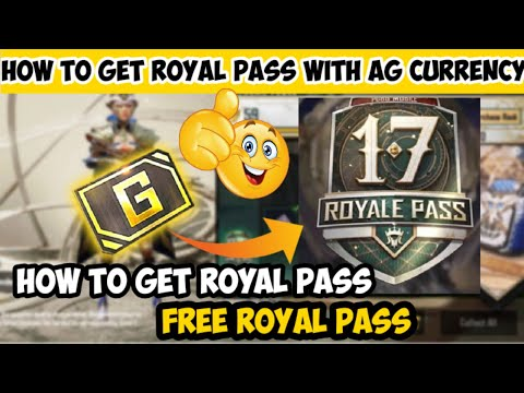How To Get Free Royal Pass Pubg Mobile With Ag Currency || How To Get Free Royal Pass In Pubg Mobile