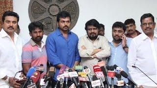 Komban Urgent Press Meet | Galatta Tamil