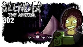 [Slender: The Arrival] mit ❤ Alice LP ❤ / Part #002 \ PLANLOS IM WALD [FULL HD] [GERMAN / DEUTSCH]