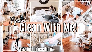 NEW!! CLEAN WITH ME 2021 + ARIZONA HOUSE TOUR ✻ HOME TOUR + SPEED CLEANING MOTIVATION