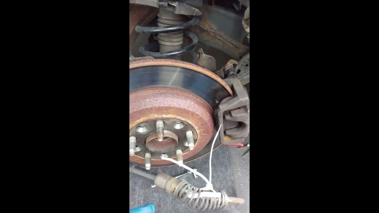 2008 Ford Taurus, Edge, and Flex Emergency brake removal ...