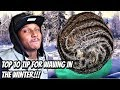 EVERY WAVER WATCH NOW!!! PB THE GOAT TOP 10 TIPS FOR WAVING IN THE WINTER!