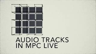 AKAI MPC Live: аудио-дорожки