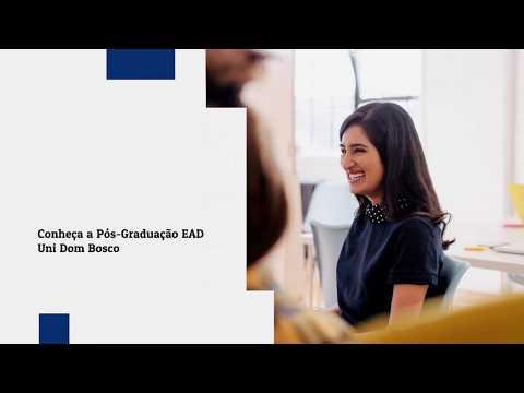 Institucional Pós-Graduação EAD Uni Dom Bosco