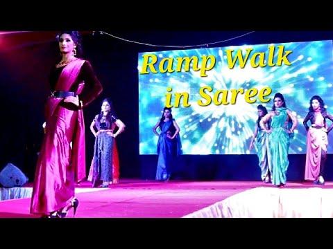 Exclusive Saree Fashion Show at Women SME Expo - 2017