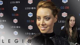 Aubrey Plaza – Legion on the Red Carpet