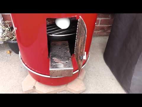 Brinkmann Electric Smoker Add Wood Chips Tutorial