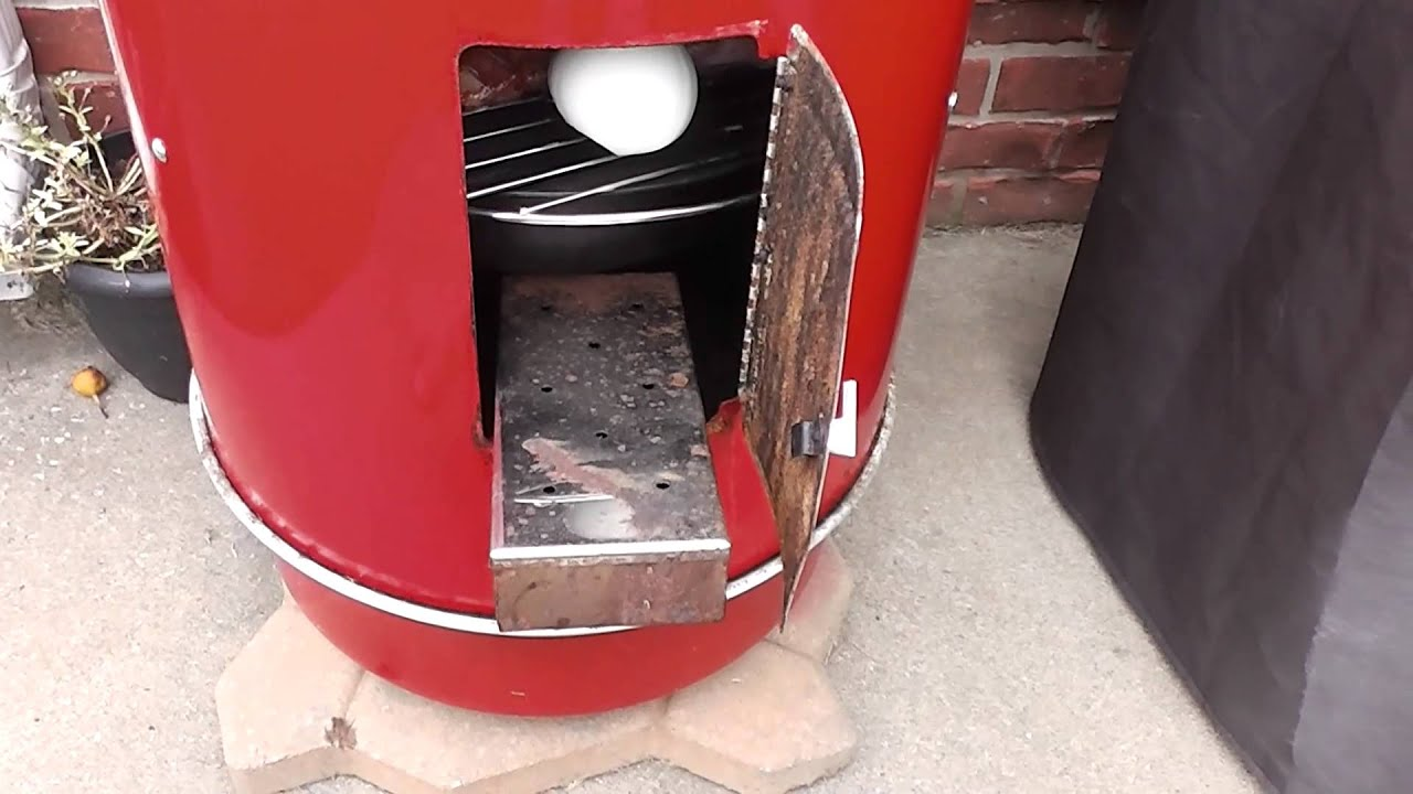 Brinkmann Electric Smoker Add Wood Chips Tutorial Youtube