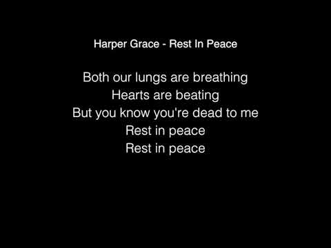 Harper Grace - Rest In Peace (R.I.P) Lyrics American Idol 2018