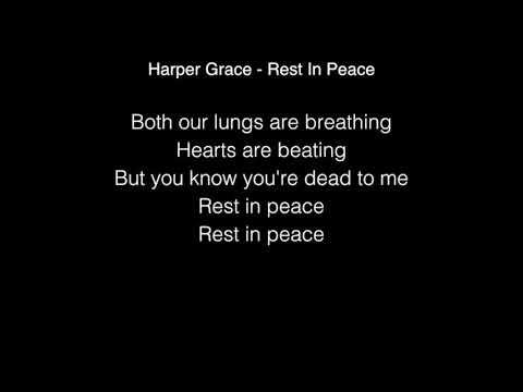 Harper Grace - Rest In Peace (R.I.P) Lyrics American Idol 2018