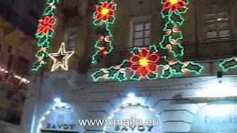 Weihnachten in Valletta auf Malta