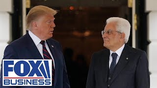 Trump, Italian President hold joint press conference