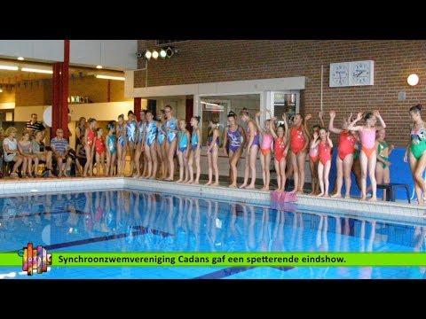 Beelden uit de Regio - Synchroonzwemvereniging Cadans Spetterende Eindshow