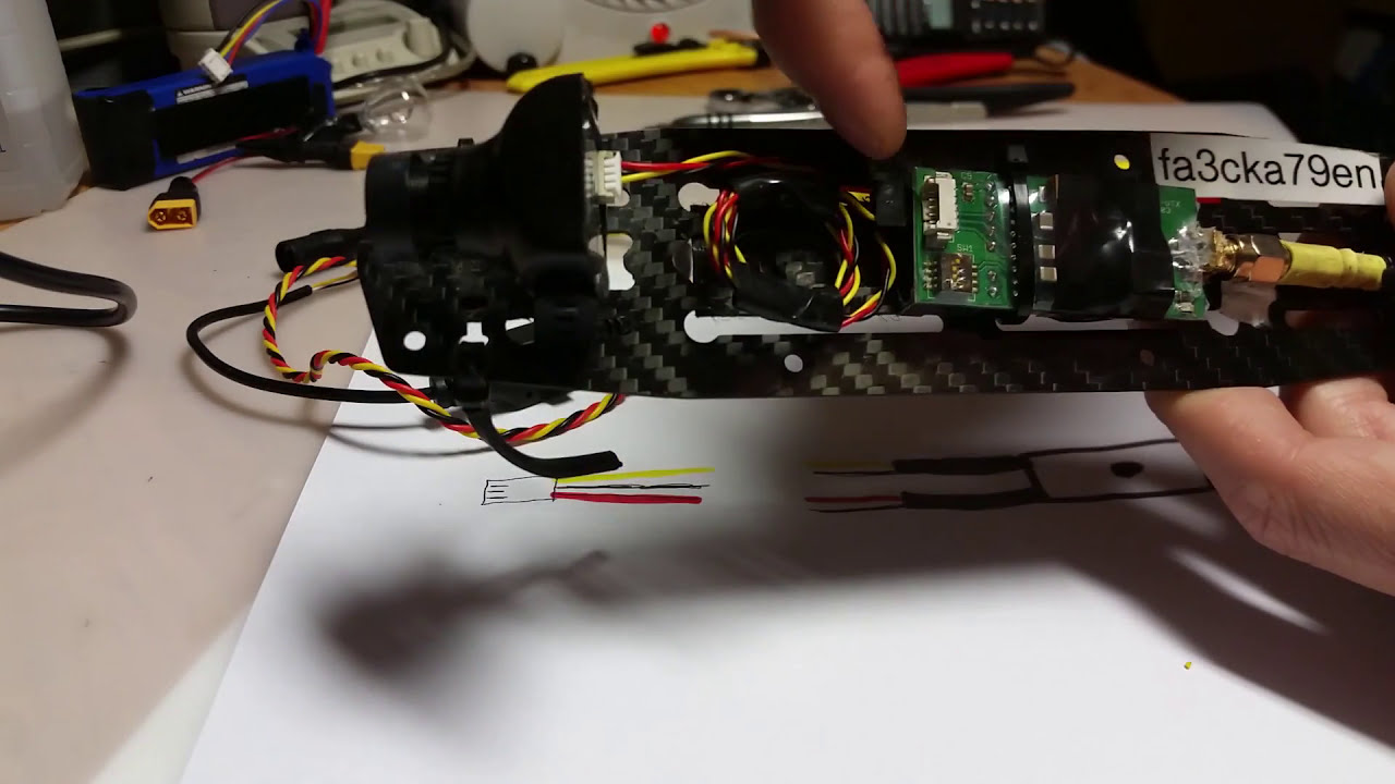 FPV Cam TIP - Connect OSD Cable to VTX - HS1177 фото