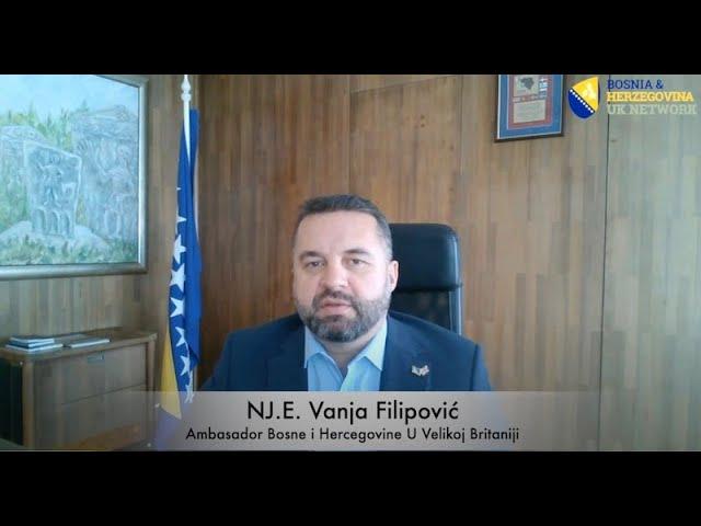 Čestitka NJ.E. Vanje Filipovića povodom Dana nezavisnosti Bosne i Hercegovine!