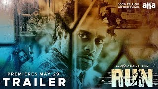 Run Trailer | An aha Original | Navdeep | Pujita Ponnada | Lakshmikanth Chenna | Premieres MAY 29