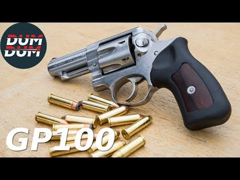 Ruger GP100 opis revolvera (gun review)
