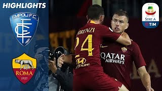 Empoli 0-2 Roma | Late Džeko Goal Wraps Up Away Win | Serie A