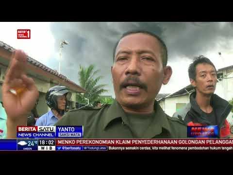 Pabrik Tiner di Tangerang Hangus Terbakar