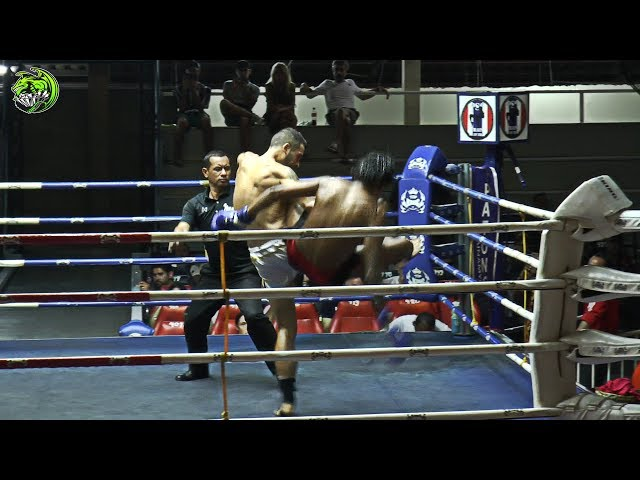 Leo EMERALD Muay Thai Gym vs Denlepang Cherntalay gym