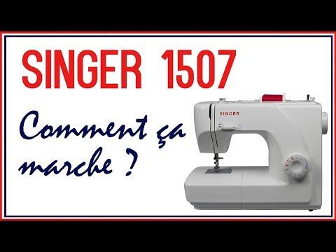 Leçon Couture n°1 - Comment utiliser une machine à coudre (Singer 1507) | Cecile
