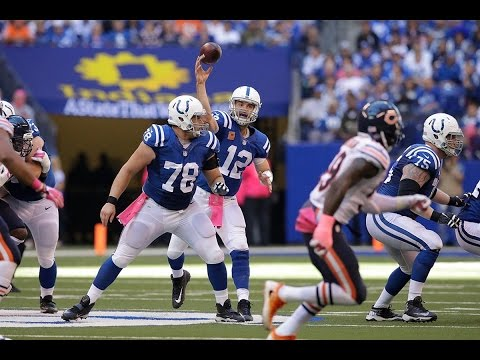 Every Andrew Luck Throw Week 5 || Colts vs Bears 2016
