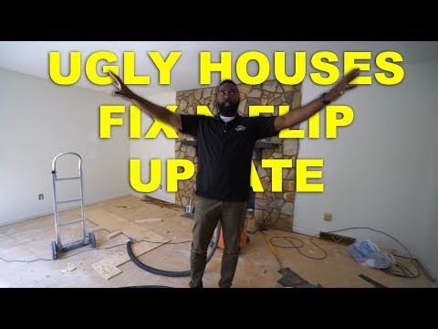 Wholesaling Real Estate | Ugly House Fix N Flip Update | Vlog 15
