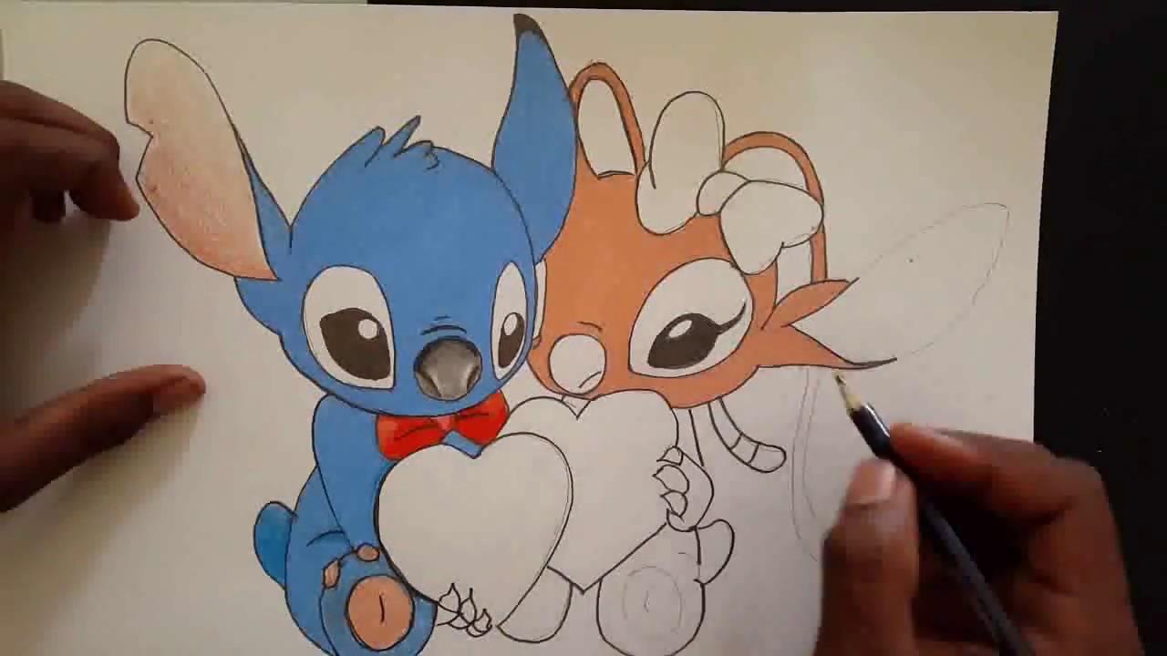 Dibujo De Amor A Lapiz Facil De Hacer Para Mi Novia Youtube